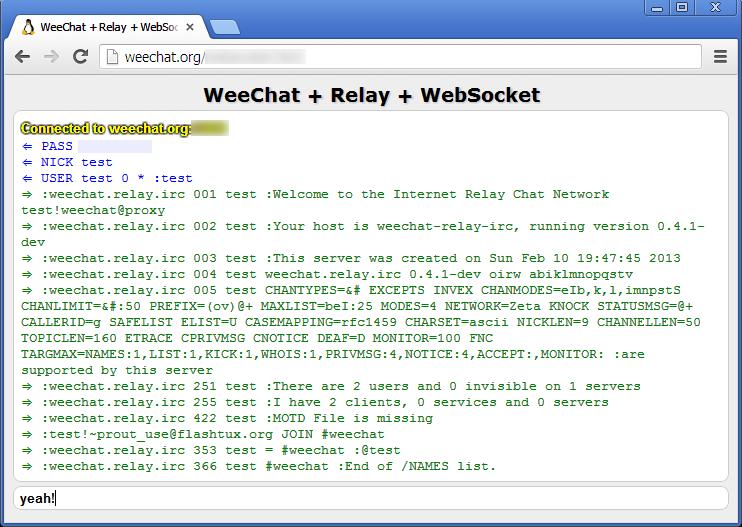 WeeChat dev news - page 2